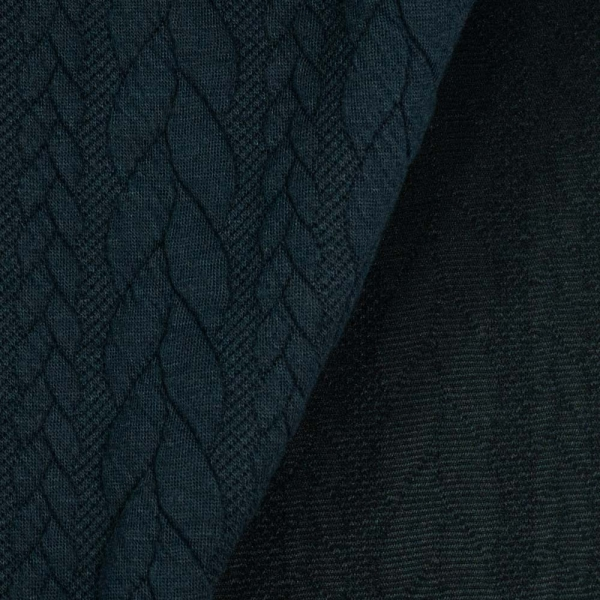 Jacquard Cable navy