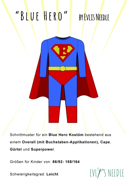 eBook Superhero by EvLis-Needle