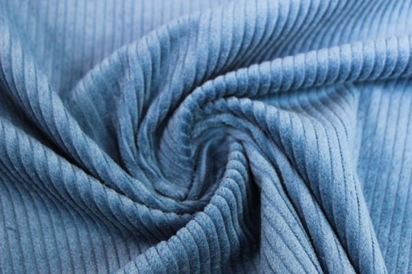 Breitcord jeansblau ÖkoTex 100