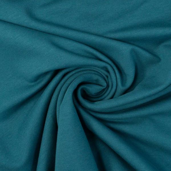 BIO Sommersweat French Terry Uni jeansblau dunkel