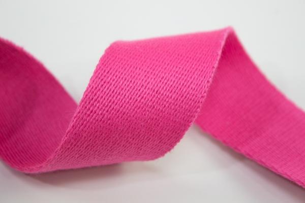 Gurtband 40mm pink 100% Baumwolle Ökotex 100