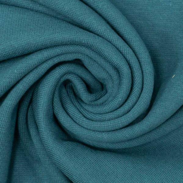 Bio Bündchen Feinstrick jeansblau dunkel Ökotex 100