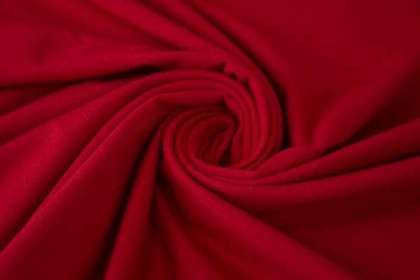 Bündchen Feinstrick Uni dunkles rot Ökotex 100