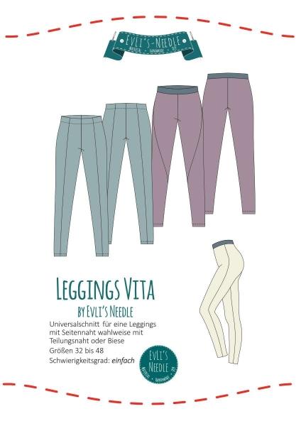Papierschnitt VITA Leggings