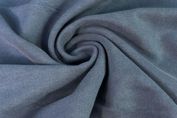 Baumwoll Hosenstoff Romanit-Jersey Punta-Jersey jeansblau hell Ökotex 100