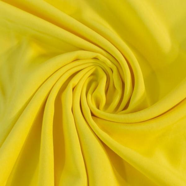 Viskosewebware Kunstseide Uni gelb