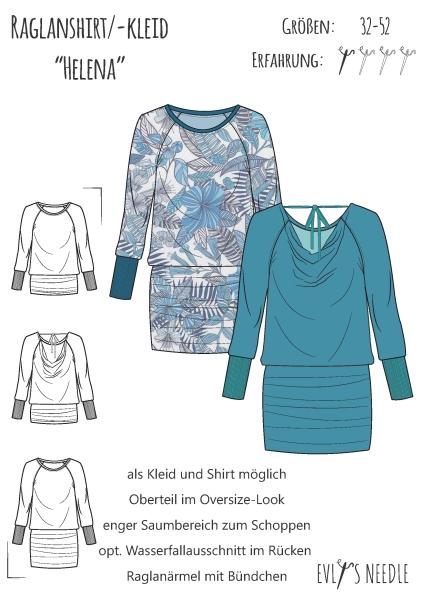 eBook HELENA Raglanshirt / Kleid