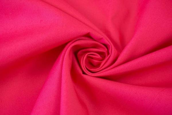Baumwolle/Webware Uni pink Ökotex 100