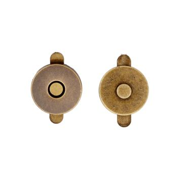 Magnetverschluss 18mm Messing