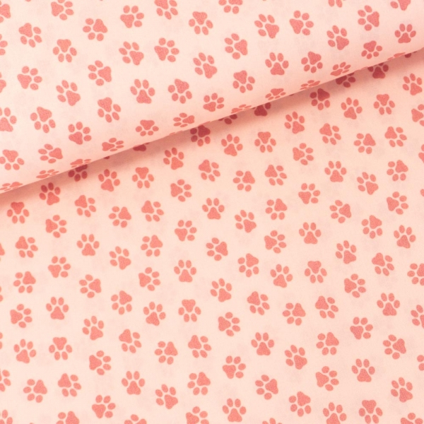 Baumwollwebware Pfoten nude