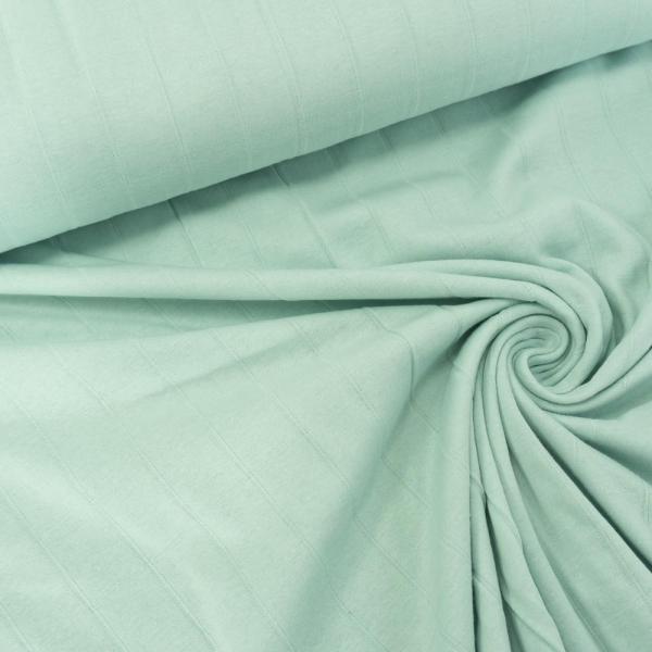 Musselin Jersey Double Uni mint