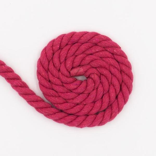 Soft Kordel 10mm gedreht pink