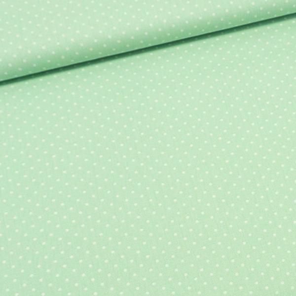 Baumwolle/Webware Petit Dots mint Ökotex 100