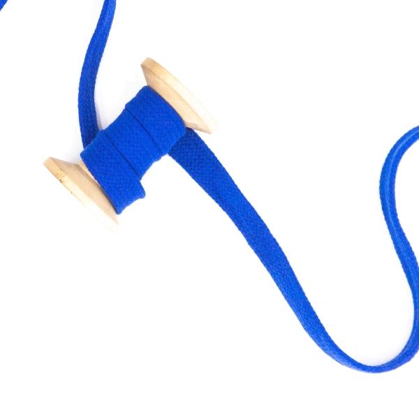 Flachkordel 20mm - Hoodie Kordel royalblau