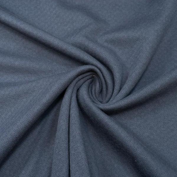 Baumwollstrick Fine Knit Dots navy