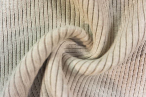 Grobstrickbündchen HEAVY beige meliert Cozy-Style Ökotex 100