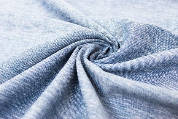 Leinen jeansblau meliert Ökotex 100