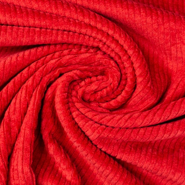 Breitcord Stretch rot SCHWER 345gr/m²