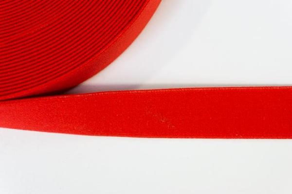 Gummiband SOFT rot 25mm