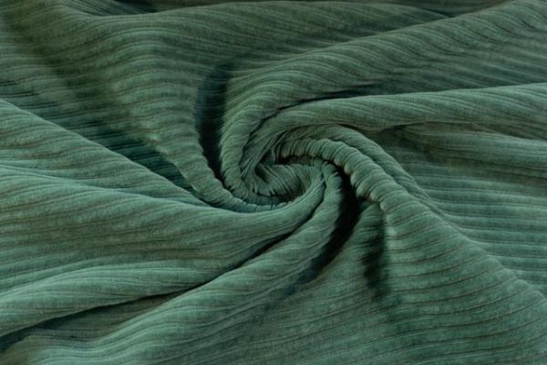 Jersey Breitcord Baumwolle dusty mint ÖkoTex 100
