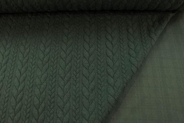 Jacquard Cable MELIERT khaki Ökotex 100