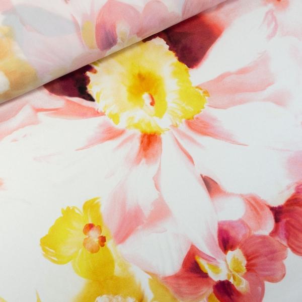 Ital. Seide Stretch Deluxe Primavera coral