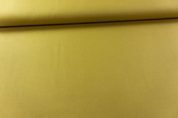 Canvas Premium Uni senf 100% Baumwolle Ökotex 100