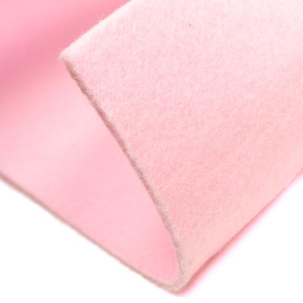 Filz 5mm Bastelfilz Uni rosa