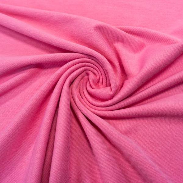 Poloshirt Baumwolljersey Uni rosa