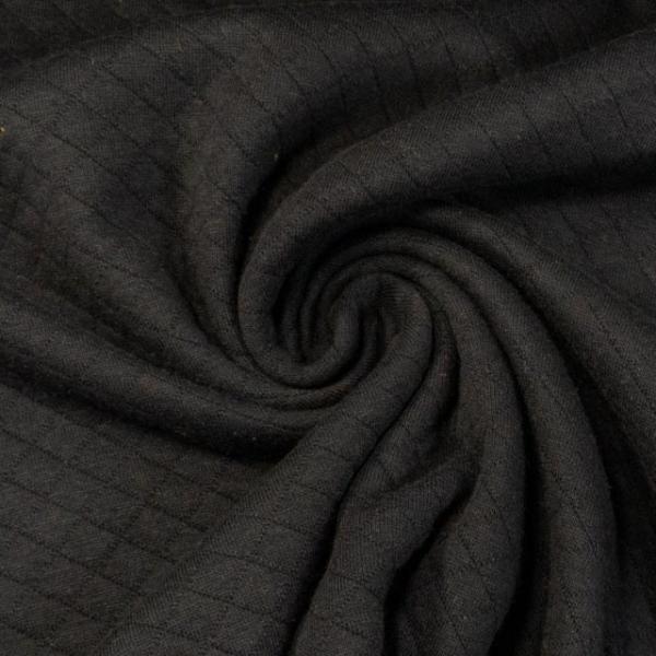 Baumwolljersey Stepper schwarz