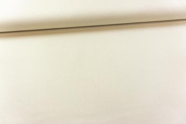 Canvas Premium Uni natur 100% Baumwolle Ökotex 100