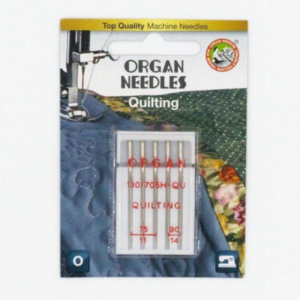 Organ Quilting 5 Stk. Stärke 75-90