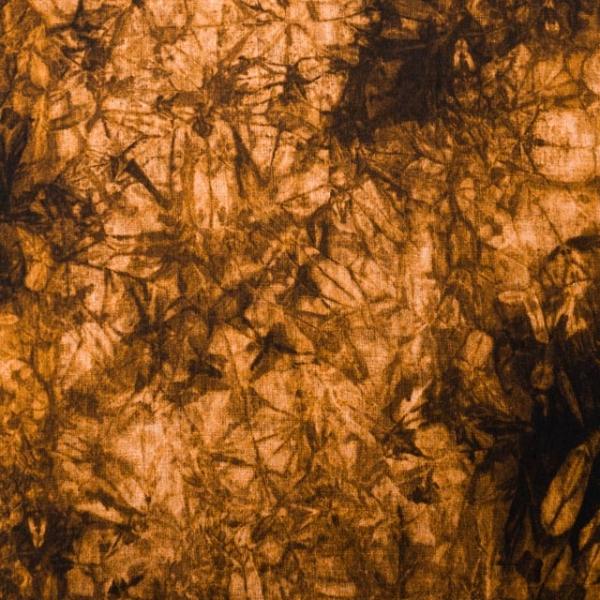 Bio-Baumwolljersey Batikstyle senfgelb