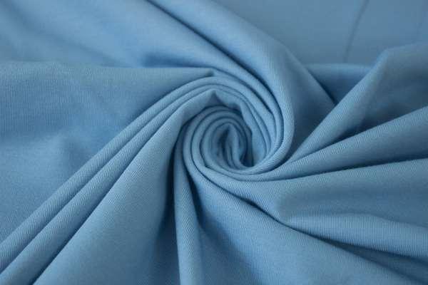 Bündchen Feinstrick Uni jeans hell Ökotex 100