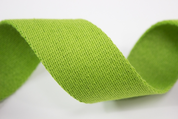 Gurtband 40mm lime 100% Baumwolle Ökotex 100