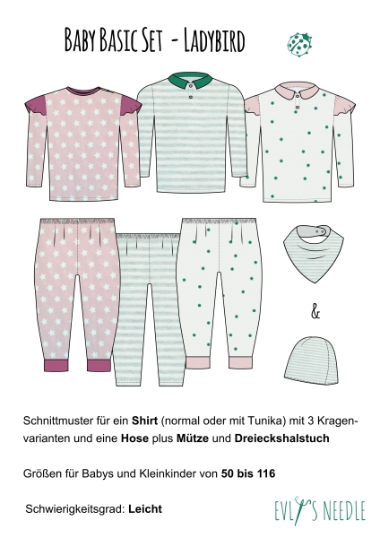 eBook Kinderset Ladybird by EvLis-Needle
