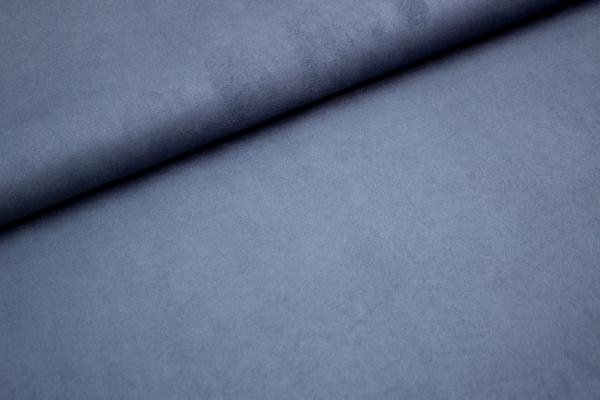 Velourlederjersey jeansblau-dunkel 300gr/m² Öko Tex100