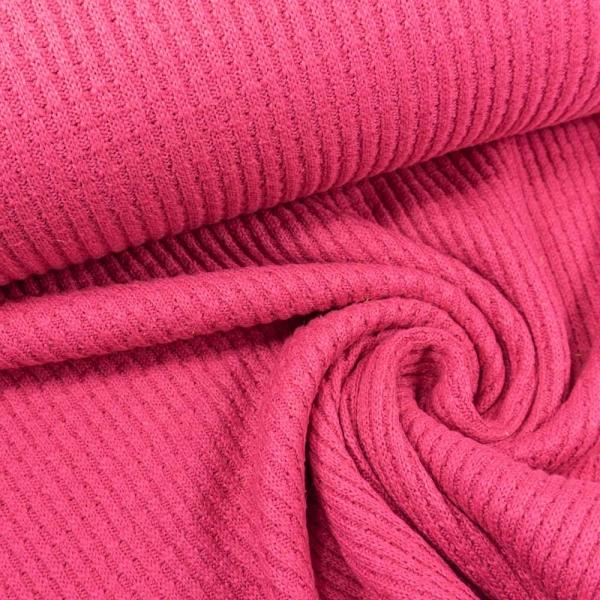 Baumwollstrick pink-coral