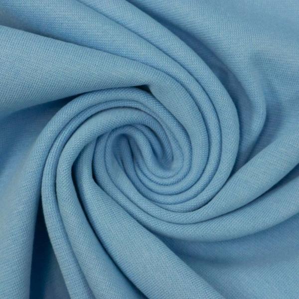 Bündchen Feinstrick hellblau