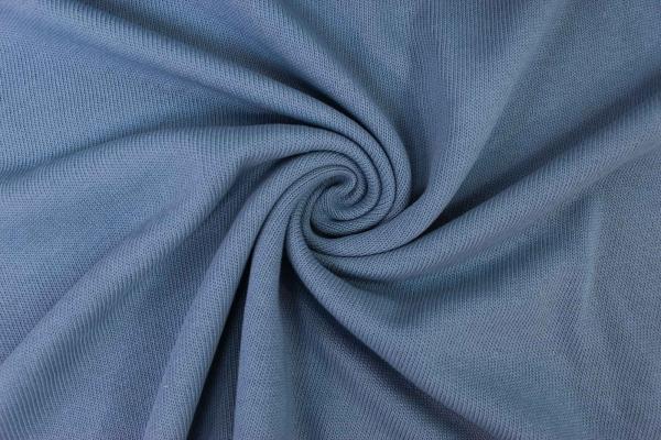 Baumwoll Strick Braid jeansblau Ökotex 100