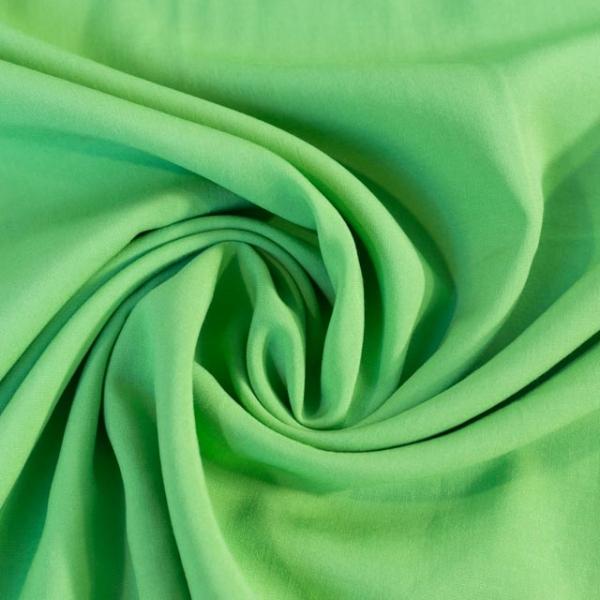 Viskosewebware Kunstseide Uni hellgrün