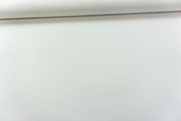 Canvas Premium Uni weiß 100% Baumwolle Ökotex 100