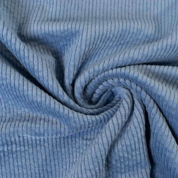 Breitcord Stretch jeansblau SCHWER 320gr/m² ÖkoTex 100