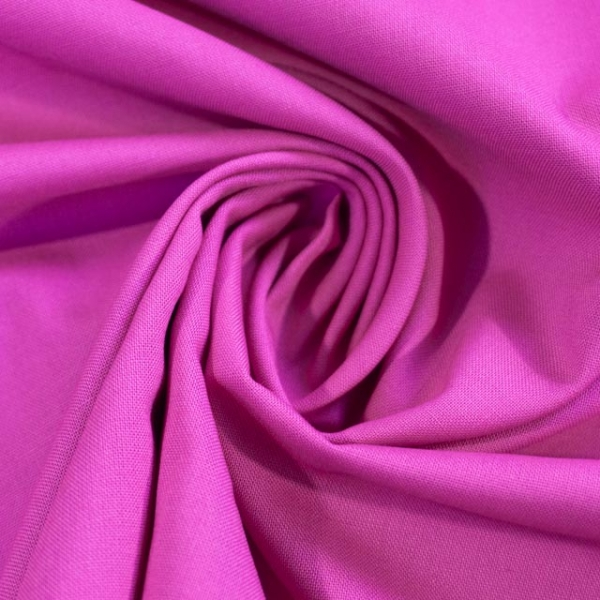 Baumwollwebware Fahnentuch Uni pink Ökotex 100