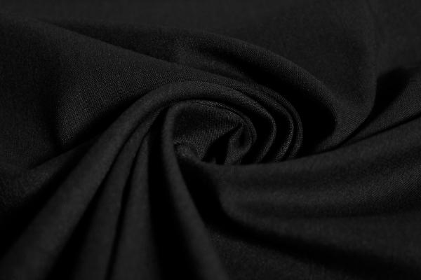 Hosenstoff elastisch Emporio Uni schwarz Öko Tex 100