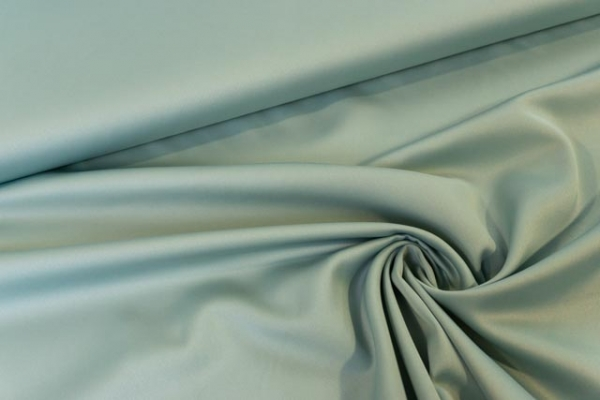 Royal Micro Satin Uni dusty mint Ökotex 100