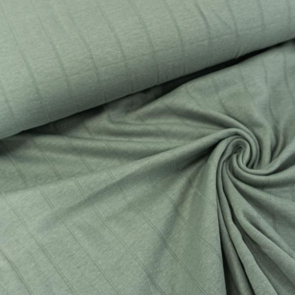 Musselin Jersey Double Uni dusty mint