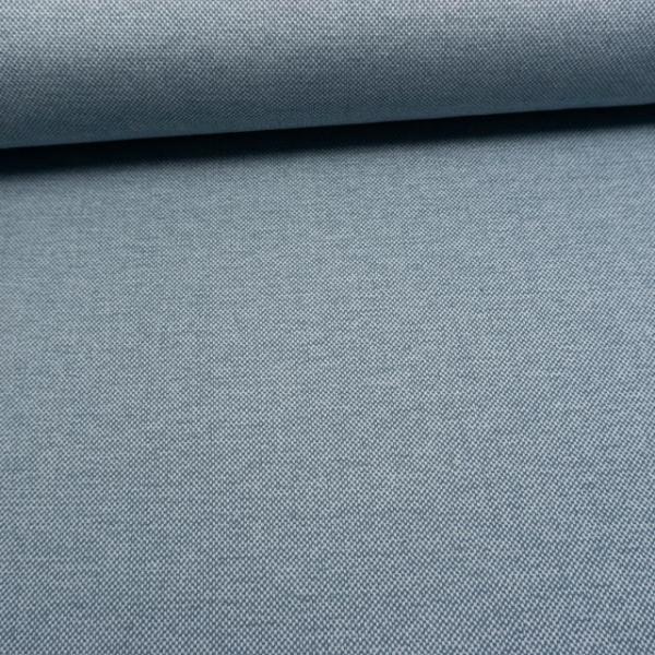 Jacquard Dekostoff Urban jeansblau