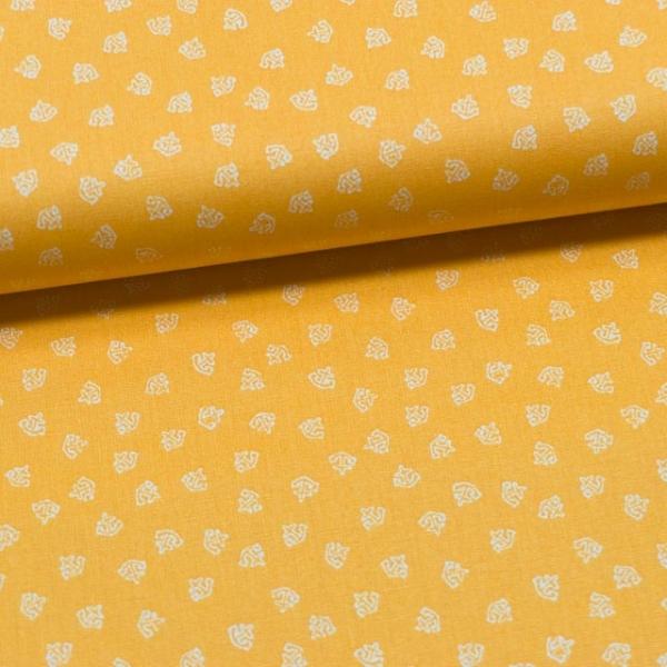 Baumwollwebware Mini Anchor gelb