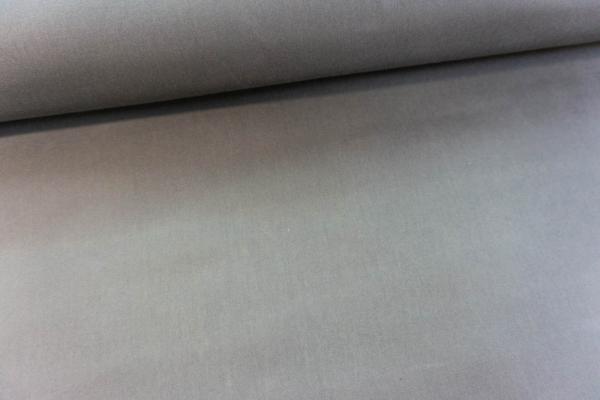 Oil Skin Webware wasserabweisend Uni mittelgrau